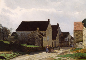 Art Prints of Women Going to the Woods by Alfred Sisley