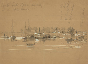 Art Prints of General Smith's Expedition Disembarking (21738L) by Alfred Waud