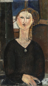 Art Prints of Antonia by Amedeo Modigliani