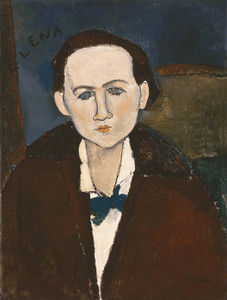 Art Prints of Elena Povolozky by Amedeo Modigliani