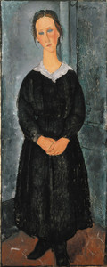 Art Prints of Servant Girl by Amedeo Modigliani