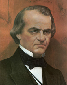 Art Prints of Andrew Johnson, Presidential Portraits
