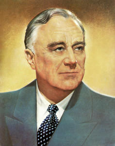 Art Prints of Franklin D. Roosevelt, Presidential Portraits