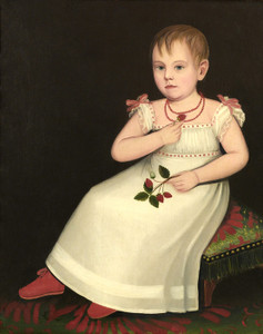 Art Prints of Portrait of Mary Margaret Deuel by Ammi Phillips