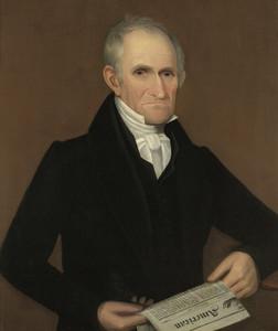 Art Prints of Portrait of John Hughes of Hughesville by Ammi Phillips