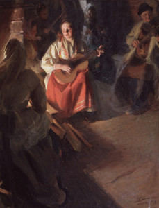 Art Prints of A Musical Family by Anders Zorn