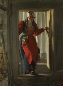 Art Prints of Female Figure by Anders Zorn