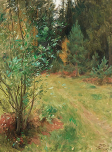 Art Prints of Landscape from Gopsmor, 1917 by Anders Zorn