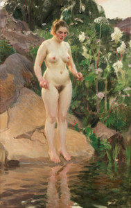 Art Prints of Archipelago Flower by Anders Zorn