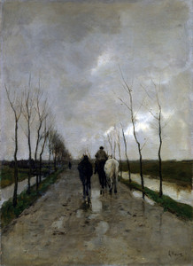 Art Prints of A Dutch Road by Anton Mauve