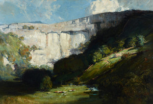 Art Prints of Malham Cove by Arthur Streeton
