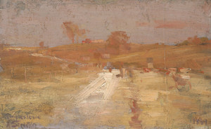 Art Prints of A Colour Impression of Templestowe by Arthur Streeton