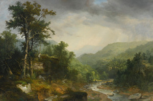 A Showery Day Among the Mountains by Asher Brown Durand | Fine Art Print