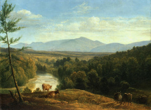 Art Prints of Catskill Mountains by Asher Brown Durand