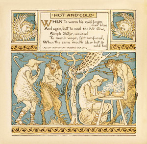 Art Prints of Hot and Cold, Aesop's Fables