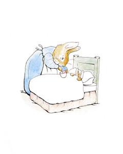 Art Prints of Mrs. Rabbit Gives Peter Rabbit Soup by Beatrix Potter