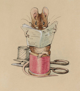 Art Prints of The Tailor by Beatrix Potter