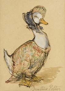 Art Prints of Jemima Puddle Duck by Beatrix Potter