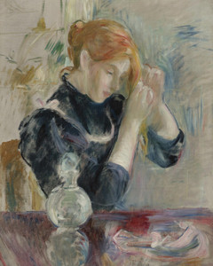 Art Prints of Before the Bath by Berthe Morisot