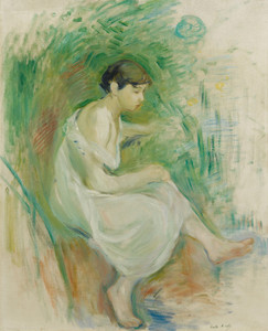 Art Prints of Baigneuse in a Shirt, Bather by Berthe Morisot