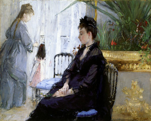 Art Prints of Interior by Berthe Morisot