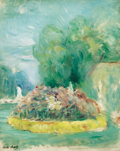 Art Prints of Park of Fontainebleau by Berthe Morisot