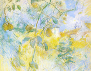 Art Prints of Pears by Berthe Morisot