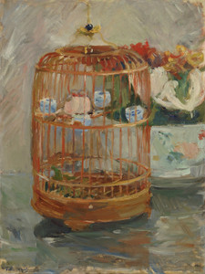 Art Prints of The Cage by Berthe Morisot
