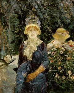 Art Prints of The Garden by Berthe Morisot