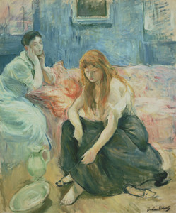 Art Prints of Two Girls by Berthe Morisot