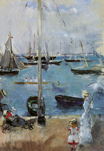Art Prints of West Coves, Isles of Wight, England by Berthe Morisot