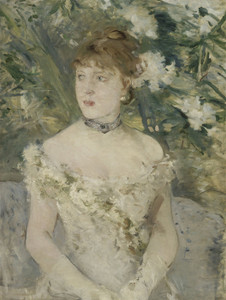 Art Prints of Young Girl in a Ball Gown by Berthe Morisot