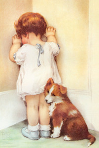 Art Prints of Mama Thought Bessie Needed a Lesson by Bessie Pease Gutmann