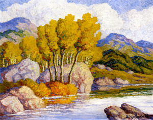 Art Prints of Autumn Glory by Birger Sandzen