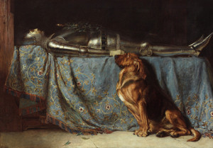 Art Prints of Requiescat by Briton Riviere