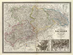 Art Prints of Sachsen, 1856 (2077022) by C.F. Weiland