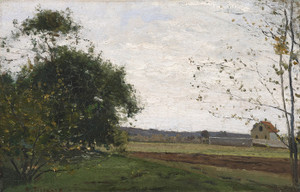 Art Prints of Landscape, 1865 by Camille Pissarro