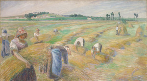 Art Prints of The Harvest II by Camille Pissarro