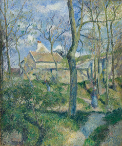 Art Prints of The Path to Les Pouilleux, Pontoise by Camille Pissarro