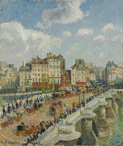 Art Prints of The Pont Neuf by Camille Pissarro
