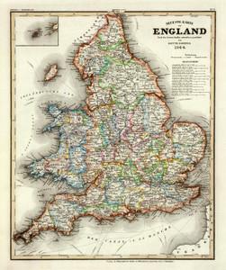 Art Prints of England, 1844 (4807022) by Carl Franz Radefeld and Joseph Meyer