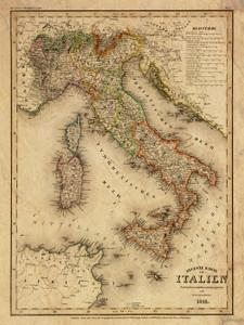 Art Prints of Italy, 1844 (4807027) by Carl Franz Radefeld and Joseph Meyer