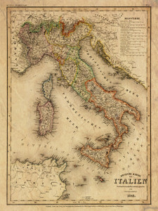Art Prints of Italy, 1844 (4807027) by Carl Franz Radefeld and Joseph Meyer