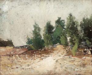 Art Prints of Wooded Hillside by Carl Frederik Hill