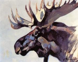 Art Prints of Moose Head by Carl Rungius