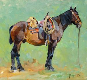 Art Prints of Packhorse by Carl Rungius