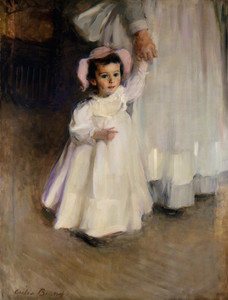 Art Prints of Ernesta (child with nurse) by Cecilia Beaux