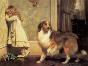 Art Prints of A Special Pleader by Charles Burton Barber