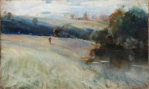 Australian Landscape by Charles Conder | Fine Art Print