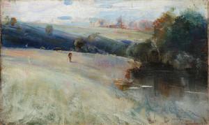 Art Prints of Australian Landscape by Charles Conder